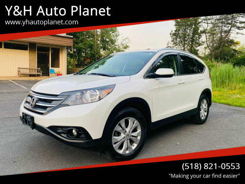 2012 Honda CR-V for sale at Y&H Auto Planet in West Sand Lake NY