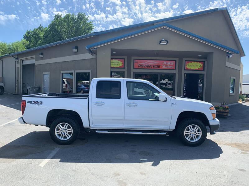 2012 Chevrolet Colorado for sale at Advantage Auto Sales in Garden City ID