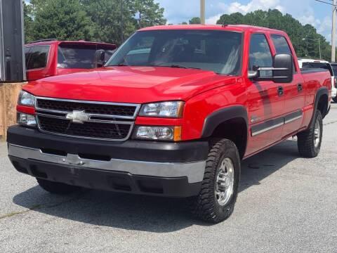 2006 Chevrolet Silverado 2500HD for sale at Luxury Cars of Atlanta in Snellville GA