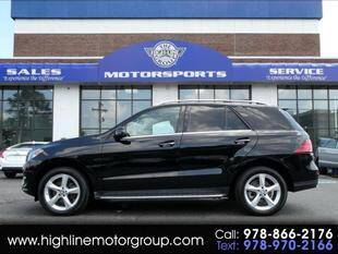 2016 Mercedes-Benz GLE for sale at Highline Group Motorsports in Lowell MA