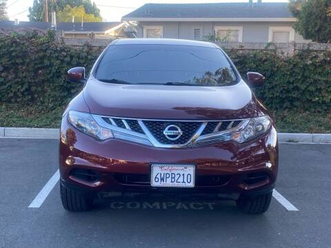 2012 Nissan Murano for sale at CARFORNIA SOLUTIONS in Hayward CA