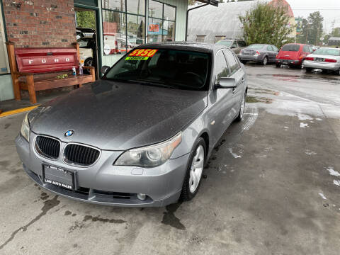 2005 BMW 5 Series for sale at Low Auto Sales in Sedro Woolley WA