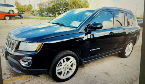 2014 Jeep Compass for sale at Naber Auto Trading in Hollywood FL