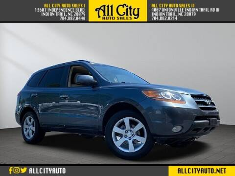 2009 Hyundai Santa Fe for sale at All City Auto Sales II in Indian Trail NC