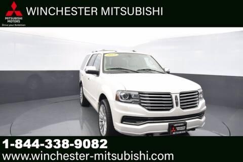 2015 Lincoln Navigator for sale at Winchester Mitsubishi in Winchester VA