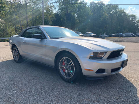 2012 Ford Mustang for sale at George Strus Motors Inc. in Newfoundland NJ