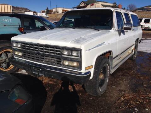 1989 Chevrolet Suburban for sale at Cherry Motors in Castle Rock CO