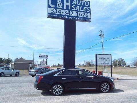 2017 Cadillac XTS for sale at C & H AUTO SALES WITH RICARDO ZAMORA in Daleville AL