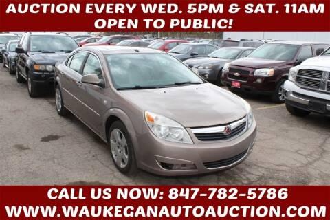 2008 Saturn Aura for sale at Waukegan Auto Auction in Waukegan IL