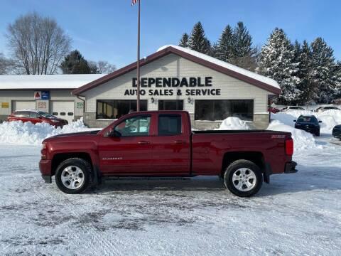 2016 Chevrolet Silverado 1500 for sale at Dependable Auto Sales and Service in Binghamton NY