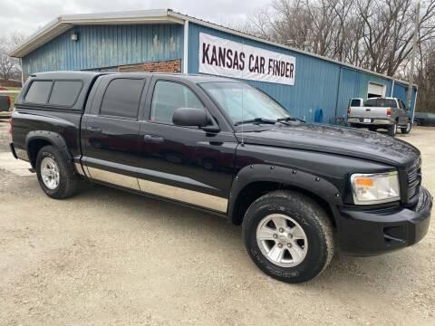 2008 Dodge Dakota for sale at Kansas Car Finder in Valley Falls KS