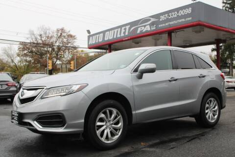 2018 Acura RDX for sale at Deals N Wheels 306 in Burlington NJ