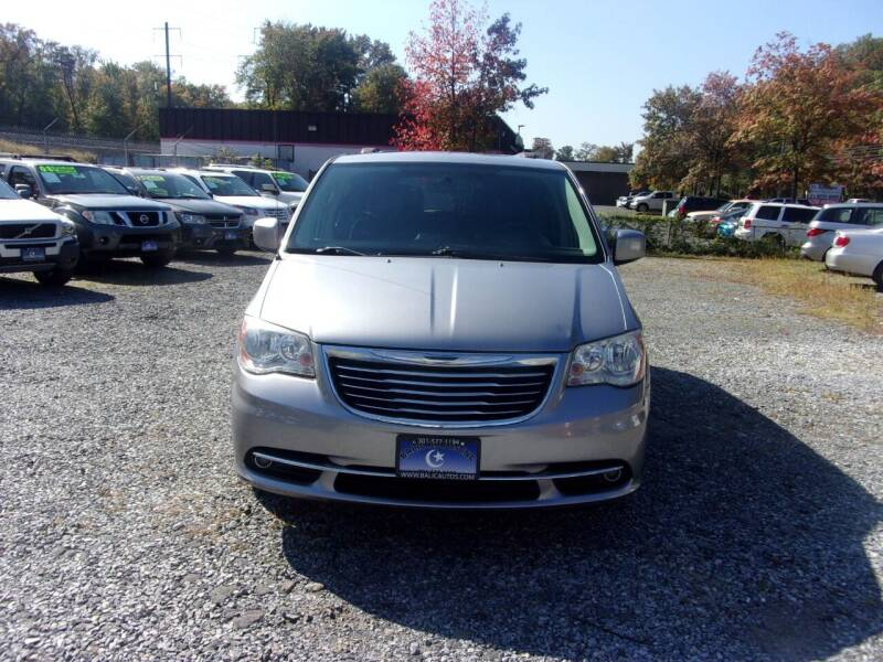 2014 Chrysler Town and Country for sale at Balic Autos Inc in Lanham MD