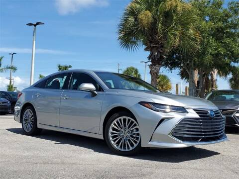2021 Toyota Avalon Hybrid for sale at PHIL SMITH AUTOMOTIVE GROUP - Toyota Kia of Vero Beach in Vero Beach FL
