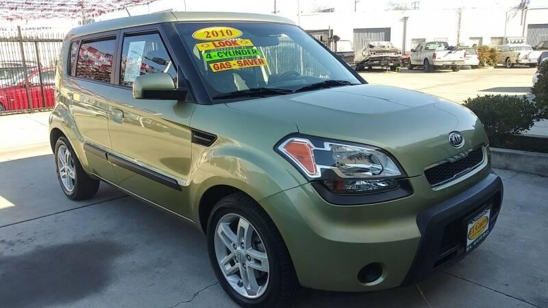 2010 Kia Soul for sale at El Guero Auto Sale in Hawthorne CA