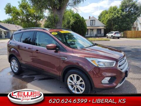2018 Ford Escape for sale at Lewis Chevrolet Buick of Liberal in Liberal KS