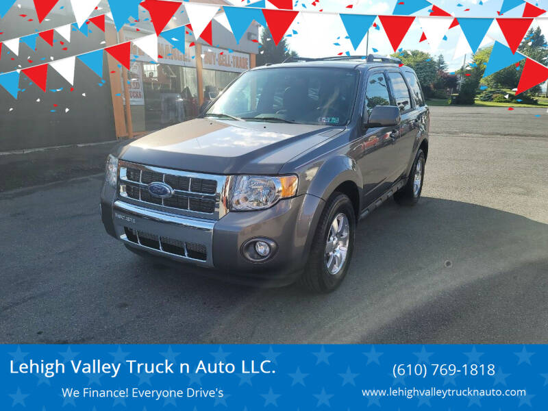 2011 Ford Escape for sale at Lehigh Valley Truck n Auto LLC. in Schnecksville PA