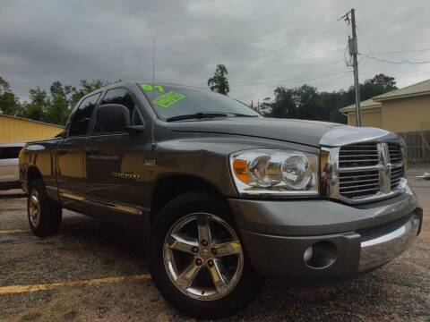 2007 Dodge Ram Pickup 1500 for sale at The Auto Connect LLC in Ocean Springs MS