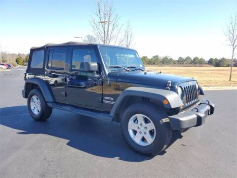 2012 Jeep Wrangler Unlimited for sale at Southern Auto Solutions - Lou Sobh Kia in Marietta GA