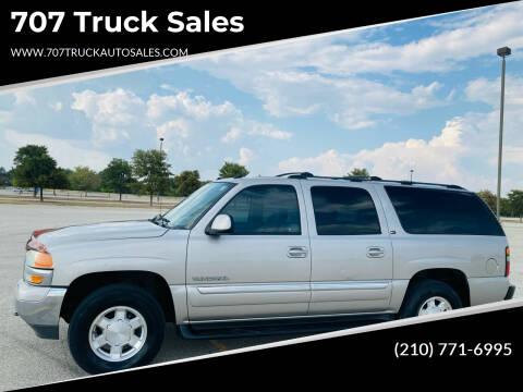 2004 GMC Yukon XL for sale at 707 Truck Sales in San Antonio TX