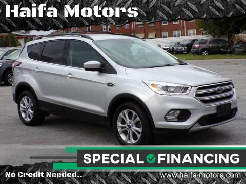 2017 Ford Escape for sale at Haifa Motors in Philadelphia PA