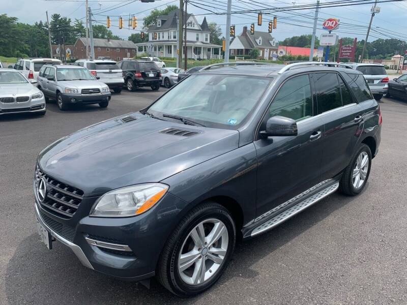 2014 Mercedes-Benz M-Class for sale at Masic Motors, Inc. in Harrisburg PA