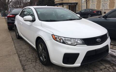 2010 Kia Forte Koup for sale at Jeff Auto Sales INC in Chicago IL