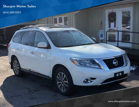 2014 Nissan Pathfinder for sale at Sharpin Motor Sales in Columbus OH