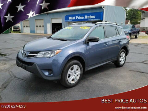 2014 Toyota RAV4 for sale at Best Price Autos in Two Rivers WI