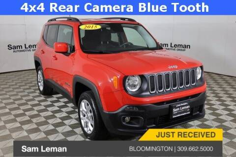 2015 Jeep Renegade for sale at Sam Leman Mazda in Bloomington IL