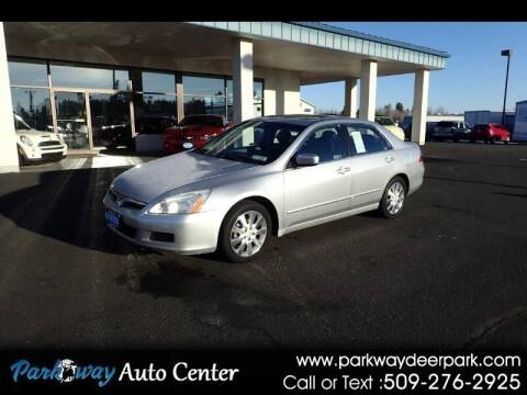 2006 Honda Accord for sale at PARKWAY AUTO CENTER AND RV in Deer Park WA