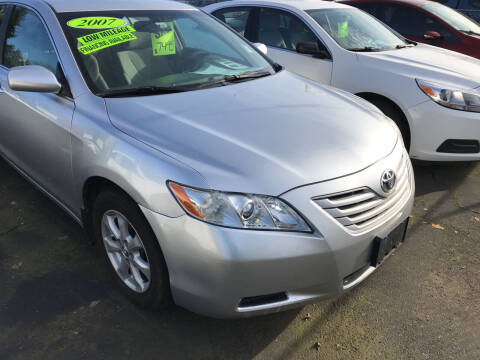2007 Toyota Camry for sale at ET AUTO II INC in Molalla OR