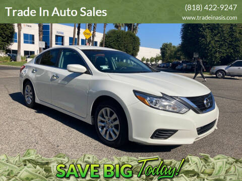 2016 Nissan Altima for sale at Trade In Auto Sales in Van Nuys CA
