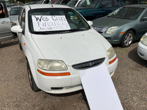 2004 Chevrolet Aveo for sale at Continental Auto Sales in White Bear Lake MN