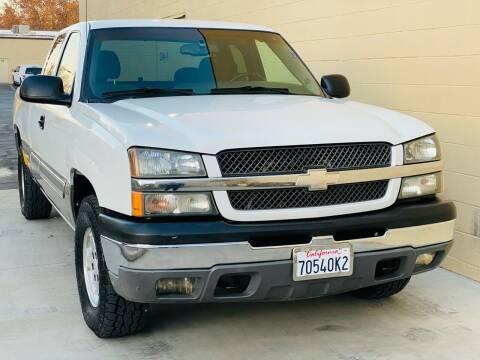 2003 Chevrolet Silverado 1500 for sale at Auto Zoom 916 in Rancho Cordova CA