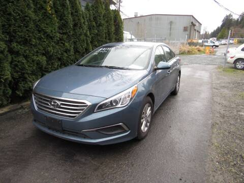 2016 Hyundai Sonata for sale at Royal Auto Sales, LLC in Algona WA