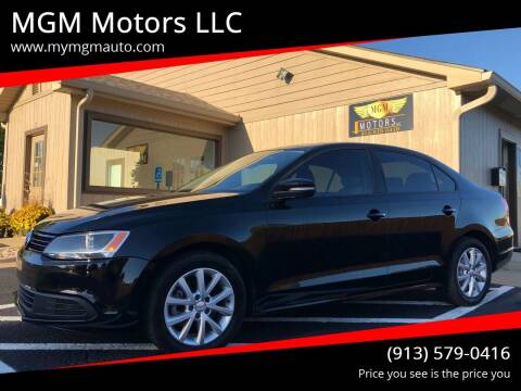 2011 Volkswagen Jetta for sale at MGM Motors LLC in De Soto KS
