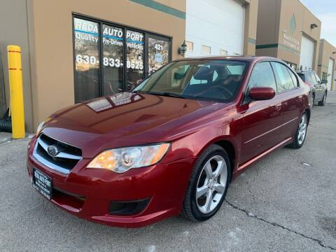 2009 Subaru Legacy for sale at REDA AUTO PORT INC in Villa Park IL