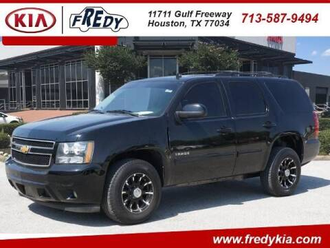2014 Chevrolet Tahoe for sale at FREDY KIA USED CARS in Houston TX