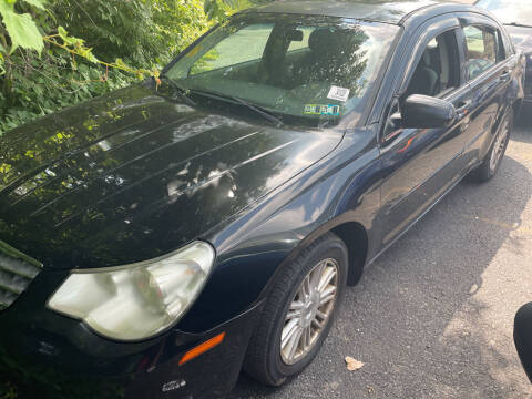 2007 Chrysler Sebring for sale at Trocci's Auto Sales in West Pittsburg PA