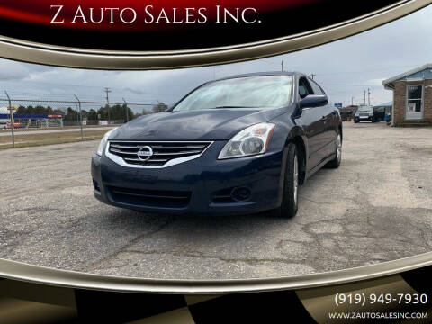 2012 Nissan Altima for sale at Z Auto Sales Inc. in Rocky Mount NC