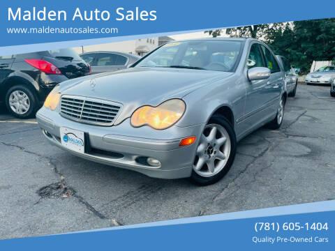 2004 Mercedes-Benz C-Class for sale at Malden Auto Sales in Malden MA