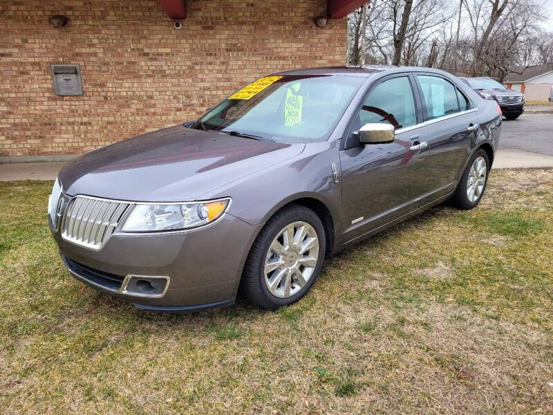 2012 Lincoln MKZ Hybrid for sale at Murdock Used Cars in Niles MI