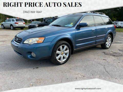2006 Subaru Outback for sale at Right Price Auto Sales in Waldo FL