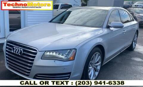 2011 Audi A8 L for sale at Techno Motors in Danbury CT