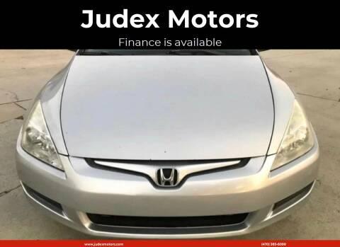 2005 Honda Accord for sale at Judex Motors in Loganville GA
