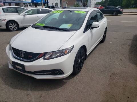 2013 Honda Civic for sale at TC Auto Repair and Sales Inc in Abington MA