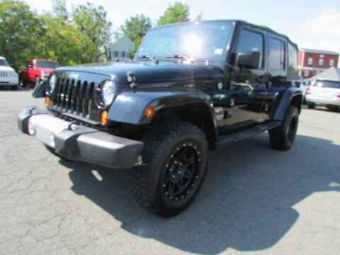 2008 Jeep Wrangler Unlimited for sale at Purcellville Motors in Purcellville VA