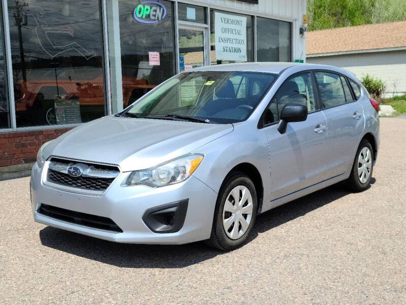 2014 Subaru Impreza for sale at Green Cars Vermont in Montpelier VT
