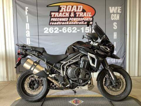 2017 Triumph Tiger Explorer XCX Jet Bl for sale at Road Track and Trail in Big Bend WI